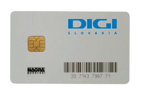 Smart Karta Digi Slovakia Sat Sortec Europe S R O